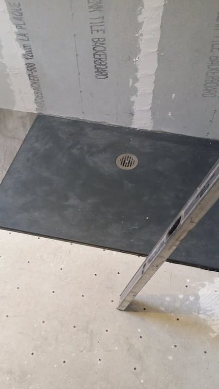 Wet room drain system