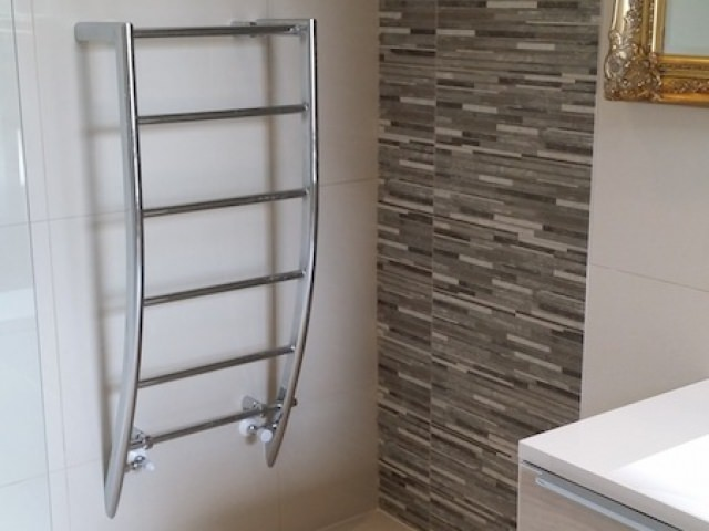 Heated Towel Rail Installation
