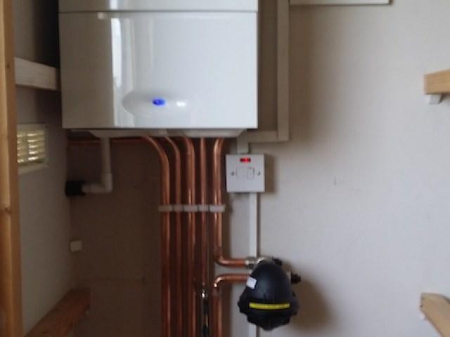 Boiler Installed
