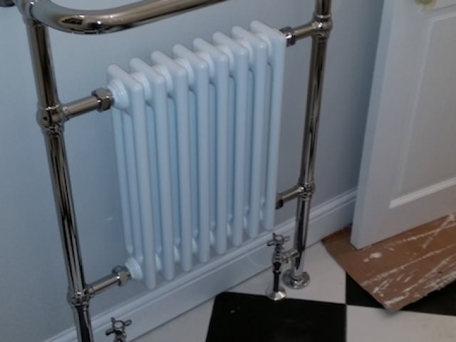 Heated Towel Rails with Radiator