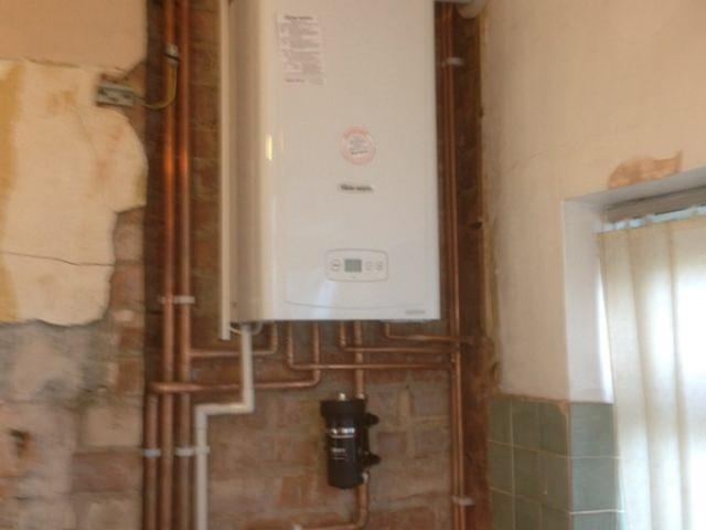 Installed Boiler